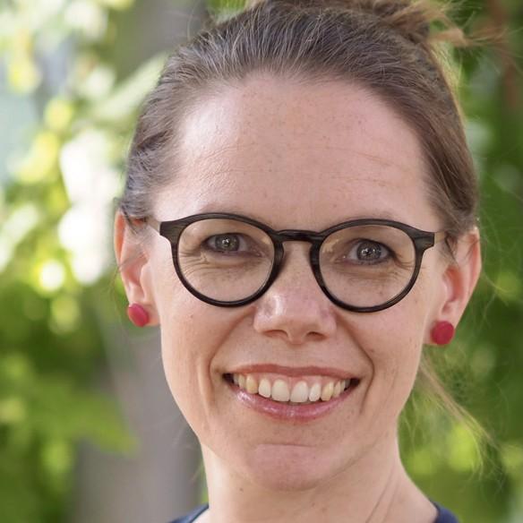 Bild von Pfarrerin Anne-Bärbel Ruf-Körver